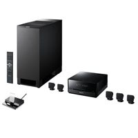BRAVIA Theater Micro System - black speakers DAV-IS10